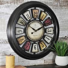 Wood Clock Plans Download Free by Clocks Wall Decor Home Decor Kohl U0027s