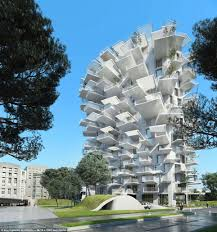 apartment block that looks like a white tree the ultimate tree
