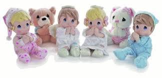 amazon precious moments prayer doll boy baby plush toys