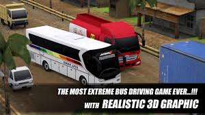 game bus mod indonesia apk telolet bus driving 3d apk download android racing games
