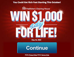 pch fan page facebook pch win 1 000 a day for life sweepstakes
