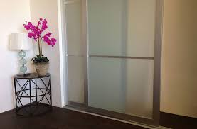 Interior Glass Sliding Doors Sliding Closet Doors Acrylic U0026 Glass