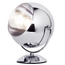 Chrome Lamp Eyeball Table Lamp Chrome From Litecraft