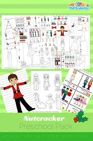 the nutcracker preschool free printable worksheet and activity