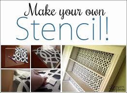 How To Make A Cardboard Chandelier Learn How To Make A Stencil From Scratch Reality Daydream