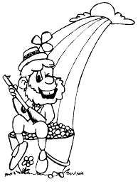 rainbow pot of gold coloring pages rainbow and pot of gold coloring pages sunrise coloring4free