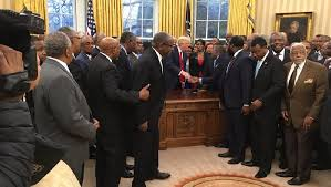 Trump In The Oval Office Trump Meets With Several Dozen Leaders Of Historically Black Colleges