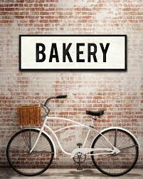bakery sign word art home kitchen decor u2013 transit design