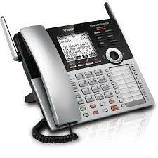 vtech 4 line small business system main console cm18445 vtech