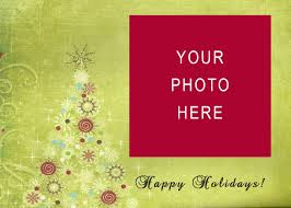 10 best images of holiday postcard templates christmas holiday