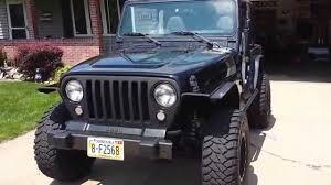 2000 jeep bumpers 2002 jeep wrangler x tj cut fenders