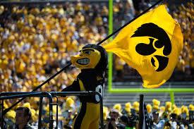 Iowa Hawkeyes Flag Ryan Ward Iowa Offensive Tackle
