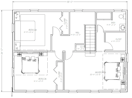 second floor plans plans addition second floor home plan house plans 41520