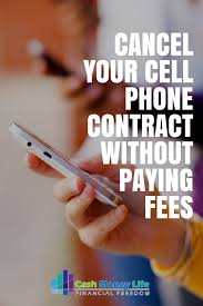 sample cancellation letter for credit card transaction cancel your cell phone contract without paying early termination fees cancel your cell phone contract without paying fees