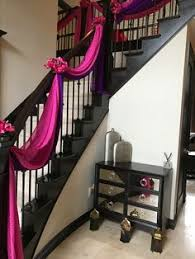 Home Stairs Decoration Wedding Preparation Staircase Decor Stairs Decor Pinterest