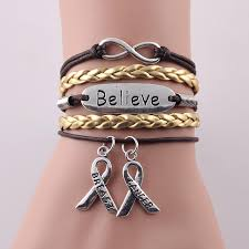 infinity love leather bracelet images Infinity love faith believe hope charm breast cancer bracelet jpg