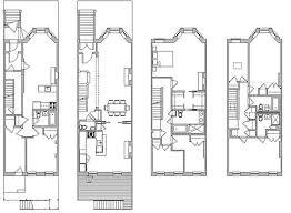 brownstone floor plans 1st street brownstone renovation eric safyan architecture