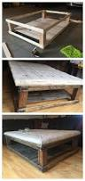 Ana White Truss Coffee Table Diy Projects by Diy Oversized Tufted Ottoman Coffee Table Upholstered Top Shelf
