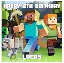 minecraft edible cake topper cake toppers ebay