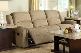 Beige Reclining Sofa Esther Reclining Sofa In Beige 9712be 3