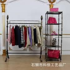 Decorative Clothes Rack Australia by 2017 Iron Clothing Display Clothing Store Shelf Floor Rack
