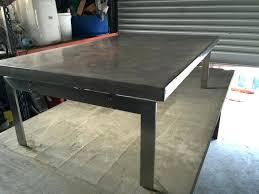Concrete Patio Table Cement Outdoor Furniture Concrete Patio Tables San Diego Wfud