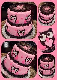 owl baby shower cake custom cakes by cake daddy pinterest