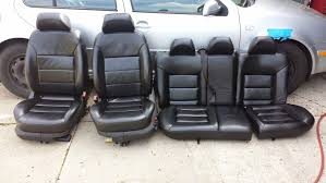 vwvortex com fs black leather power heated seats for a4 chassis