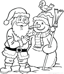 christmas coloring pictures free printable face santa claus