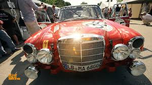 car mercedes red die rote sau the red pig mercedes 300 sel 6 8 w109 youtube