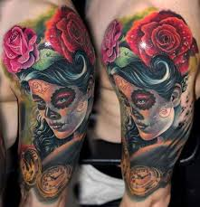 18 best realistic candy skull tattoos images on pinterest candy