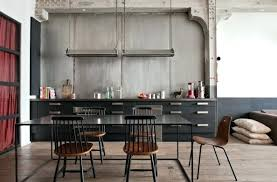 cuisine style industriel loft deco style industriel style industriel la dacco venue de york