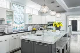 grey kitchen cabinets with white countertop 200 beautiful white kitchen design ideas that never goes