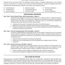 technical resume format sle director of operations resume sle resume director within