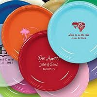 personalized serving plates personalized party plates custom printed plastic party plates