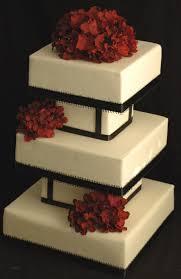 black white and red hydrangea fondant wedding cake 43 wedding u2026