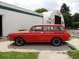 volkswagen squareback interior volkswagen squareback kasan red auto gas heat lots of accessories