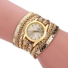 weave wrap bracelet images 2017 new women 39 s casual vintage multilayer wristwatch weave wrap jpg
