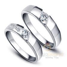 cincin emas putih cincin kawin swien emas putih 75 cincin kawin emas