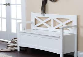 Entryway Shelf 100 Leather Bench With Storage Shelf Decor White Wooden