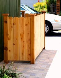Backyard Garbage Cans by Garbage Can Storage House Decks Pinterest Storage Yards And