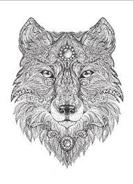wolf face coloring page print high quality wolf mandala coloring pages u2026 pinteres u2026