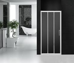 3 Panel Shower Door Grey Wheel Bathroom Shower Doors 3 Panel Sliding Tri Panel Shower