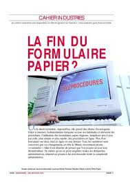 Calaméo Cfe Immatriculation Snc Calaméo La Fin Du Formulaire Papier
