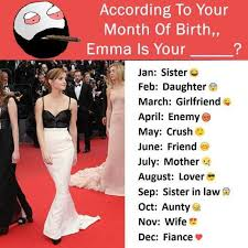 Daughter In Law Memes - dopl3r com memes according to your month of birth emma is