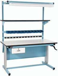 packing table with shelves industrial workbenches work tables packing tables for warehouses