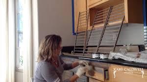 Staining Oak Cabinets How We Weather Orange Oak Cabinets Youtube