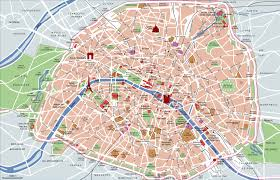 touristic map of map of tourist attractions sightseeing tourist tour
