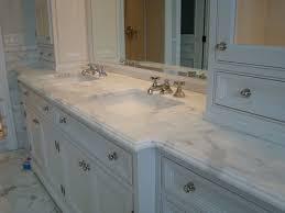 Carrara Marble Bathroom Countertops Bathroom Marble Countertops Bathroom On Bathroom Within Marble