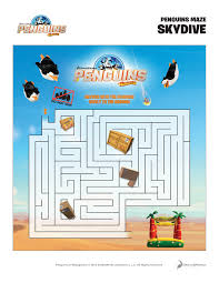 penguins of madagascar blu ray dvd giveaway printables